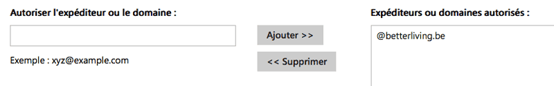 Réglage des filtres dans Outlook.com