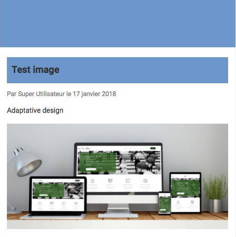 Affichage des images dans le plugin wbAmp