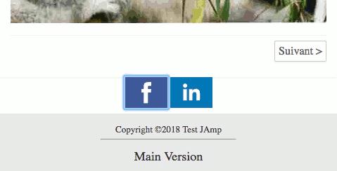Boutons de partage sur les réseaux sociaux JAmp