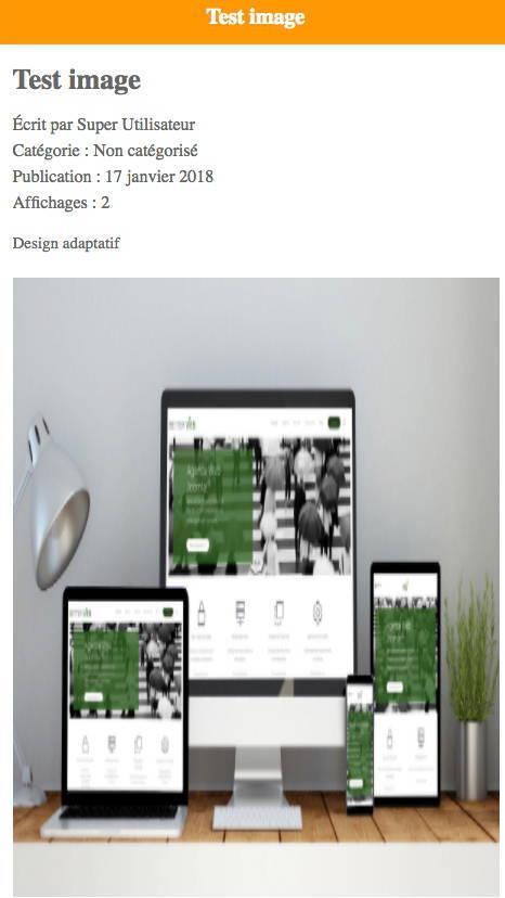 Bug d'affichage des images dans JAmp