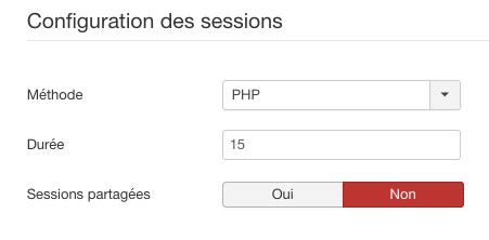 Méthodes de gestion des sessions dans Joomla!